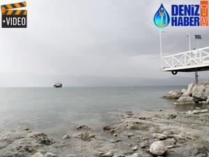 Burdur Gölü'nün suyu çekilmeye devam ediyor