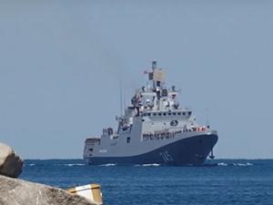 Görevlerini tamamlayan Rus gemileri, Akdeniz'den ayrıldı