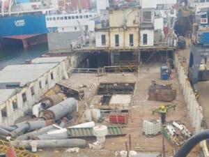Mavi Marmara, Ro-Ro gemisi yapılmak için söküldü