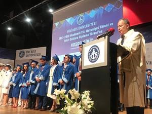 Pîrî Reis Üniversitesi 2017-2018 Akademik Yılı Mezuniyet Töreni yapıldı