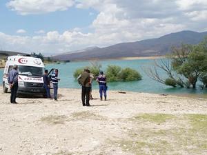 Kayseri'de Ağcaşar Barajı'na düşen çocuk kayboldu