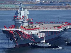 Çin'in ilk yerli uçak gemisi, deneme seferini tamamladı