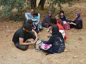 Çanakkale'de 20 kaçak göçmen yakalandı
