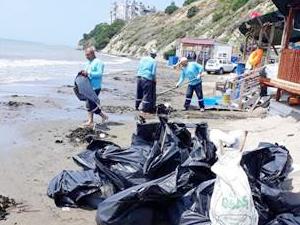Adana'da Yumurtalık ve Karataş plajları temizlendi