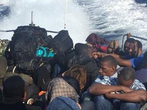Kuşadası Körfezi'nde 41 kaçak göçmen yakalandı