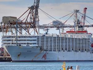 M/V MAYSORA, Tekirdağ Limanı'na yanaştı