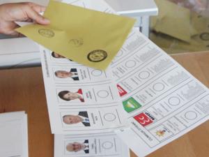 Oy verme işlemi saat 17.00'de sona erdi