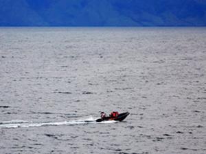 Toba Gölü'nde batan yolcu teknesinin yeri belirlendi