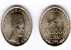 ERDEMİR'e uğur parası 100 bin lira