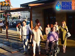 ALS hastaları için İstanbul Boğazı'nda tur düzenlendi