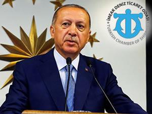 İMEAK Deniz Ticaret Odası'ndan Erdoğan'a tebrik
