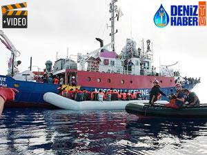 Alman kurtarma gemisi, Akdeniz'de liman arıyor
