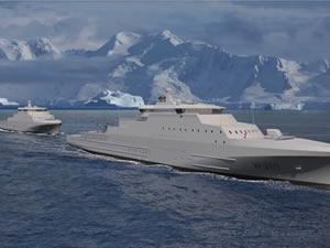Vard, Norveç'e üç sahil güvenlik gemisi inşa ediyor