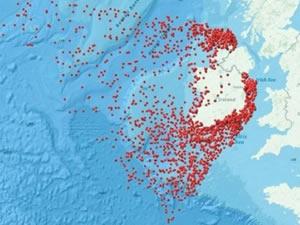 İrlanda, dünya üzerindeki batık gemileri tespit etti