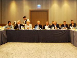 Mersin Oda ve Borsa Başkanları, kent sorunlarını tartıştı