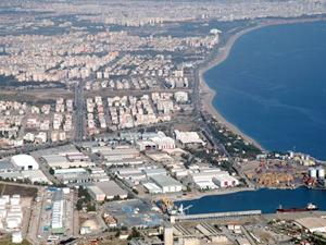 Antalya Serbest Bölgesi'nin sınırları genişliyor