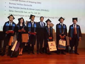 İTÜ Gemi İnşaatı ve Deniz Bilimleri Fakültesi'nde diplomalar verildi