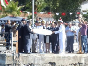 Antalya'da Kabotaj Bayramı törenle kutlandı