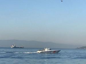 Kartal'da denizde kaybolan kişiyi arama çalışmaları sürüyor