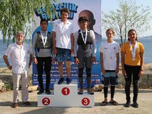 İstanbul'da yelken yarışları yapıldı