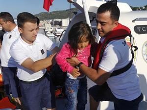 Çanakkale'de 78 kaçak göçmen yakalandı
