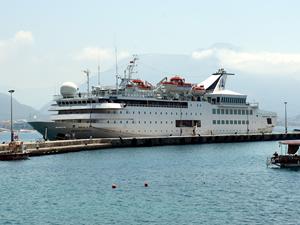 M/S Orient Queen, ikinci kez Alanya'ya yanaştı