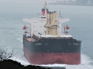 M/V INCE INEBOLU, Salif Limanı'na ulaştı