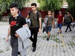 Fethiye'de 91 kaçak göçmen yakalandı!
