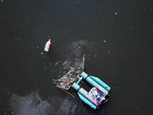 Urban Rivers, nehirler için çevreci robot tekne geliştirdi