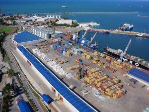 Samsun limanlar sıralamasında 7. sıraya yükseldi
