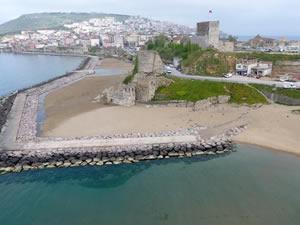 Sinop'ta kötü deniz kokusu vatandaşları rahatsız ediyor