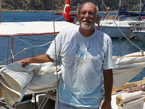 Engelleri aşan kaptan, Akdeniz turunu tamamlamada kararlı
