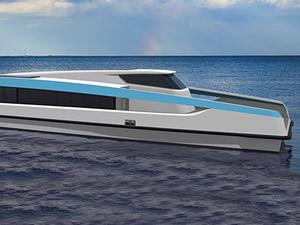 BMT, yeni hibrit feribot tasarımını tanıttı