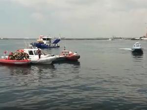 Kadıköy'de denize düşen kişi kayboldu