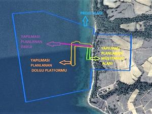 Saros Körfezi'ne iskele yapılması planlanıyor