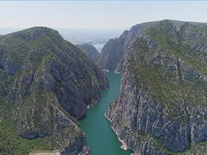 Türkiye'nin ikinci büyük kanyonu turistlerin yeni gözdesi