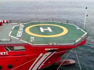 ERV NENE HATUN'a heliport izni ve işletme ruhsatı verildi
