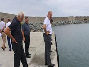 Ardeşen Limanı'na Kıyı Emniyet Birimi kuruluyor