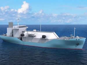 Japonya'nın ilk LNG bunker gemisi inşa ediliyor