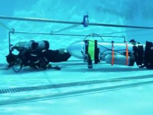 Elon Musk'ın Tayland'daki çocuklar için geliştirdiği denizaltı görüntülendi