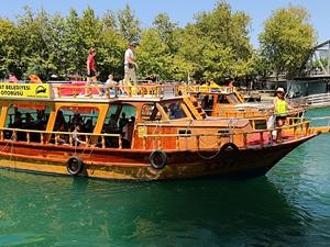 Manavgat'ta ücretsiz 'Nehir Otobüsü' seferleri başladı