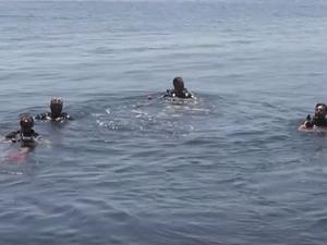 Sinop'ta farklı kentlerden kişilere dalış eğitimi veriliyor
