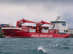 Havyard, Royal Arctıc için kargo gemisi tasarlıyor