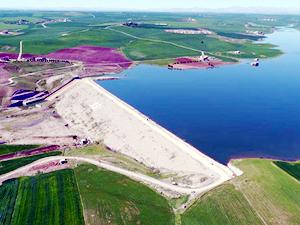 Diyarbakır'ın 158 bin dekar arazisi suya kavuşuyor