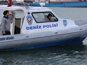 Tekirdağ'da deniz polisi, trol operasyonu yaptı