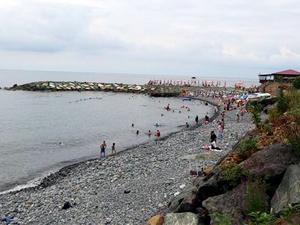 Rize ile Artvin illeri arasındaki plaj, sınır anlaşmazlığına yol açtı