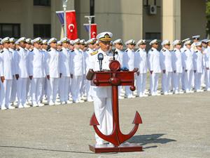 Bahriyeliler açık deniz eğitimine uğurlandı