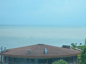 Ünye'de sahil çamur sularına bulandı