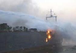 Gemideki yangın kontrol altına alındı