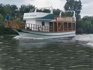 Yeşilırmak Gezi Teknesi, Çarşamba'da hizmete alınıyor